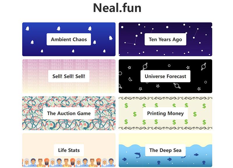 Neal.fun:有趣的网站