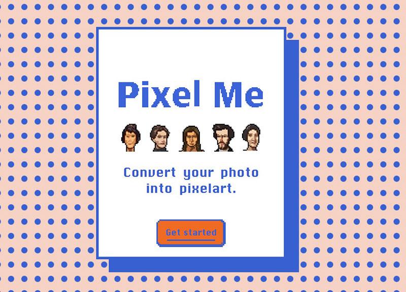 PixelMe:图片转像素图片